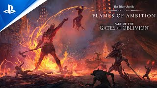 The Elder Scrolls Online: Flames of Ambition - Gameplay Trailer | PS4