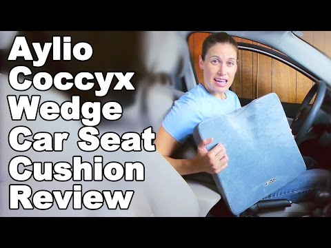 aylio-coccyx-comfort-wedge-cushion-for-car-seat-review---ask-doctor-jo