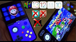 Install PlayStation , PSP , N64 , NDS , GBA4iOS , SNES , NES