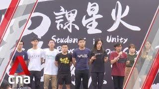 Hong Kong students boycott classes for second week