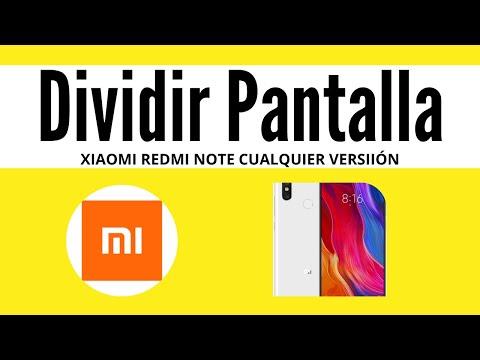 Cómo activar PANTALLA DIVIDIDA Xiaomi Redmi note 7,8,9,10...