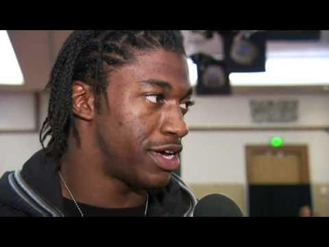 RG3 talks NFL Draft on NFL Network