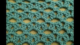 The Peephole Stitch Crochet Tutorial!
