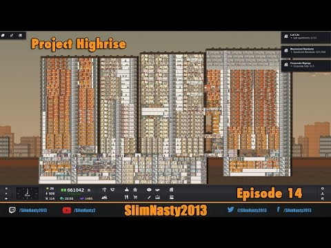 Let's Play Project Highrise Episode 14