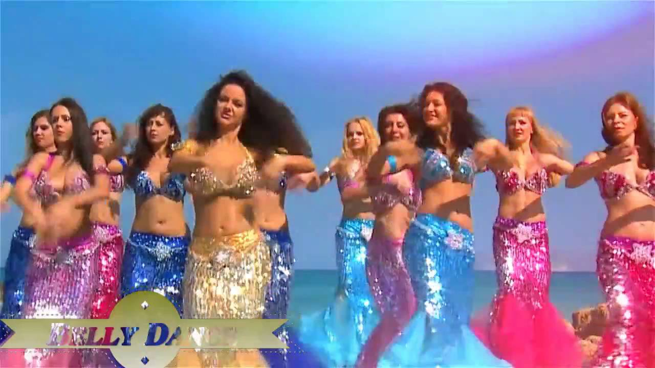 Belly Dance Of Arab Girl On The Beach 2016 HD 720