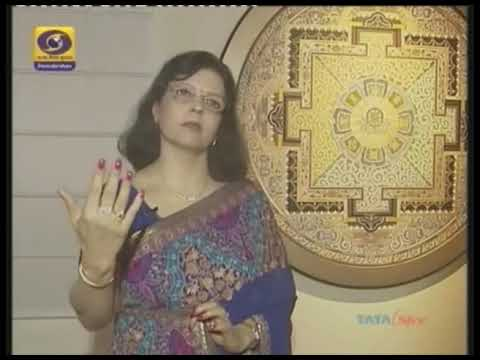 "A News Report by Doordarshan on ""Mystical Moments"" paintings by Pratiksha  Apurv"