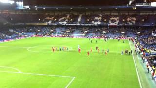 Chelsea vs Liverpool 0 - 2 - End of The Game Reina and Suarez Messing Around
