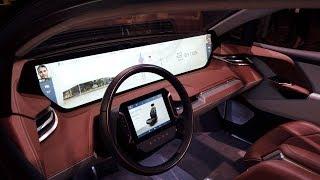 Massive Dashboard on Byton EV at CES 2019