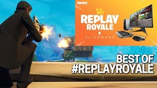 The Best of #ReplayRoyale! Win Free Vbucks & A Gaming PC! Fortnite Contest!