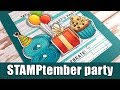 birthday card | STAMPtember blog party