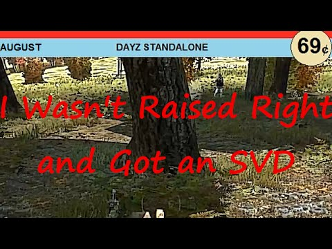 I Wasn't Raised Right and Got an SVD - Comic Book Issue 1 | DayZ SA