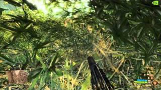 Crysis Warhead DX10 on Geforce 9600 GSO gameplay # 2