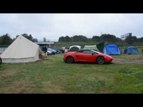 Classic Le Mans 2014 - Wake up call at the Porsche Curve Camp Site