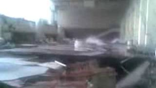 Авария на Саяно-Шушенской ГЭС(Авария на Саяно-Шушенской ГЭС 17 августа 2009 года. Вода хлещет из третьего агрегата., 2009-08-17T20:18:08.000Z)