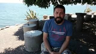 Тверия, Галилейское море, Капернаум, Израиль(Это небольшое видео послание дорогим братьям и сестрам из моей духовной мишпахи., 2014-07-10T05:20:15.000Z)