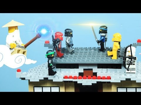 Lego Ninjago Stop Motion: The Quest For The Lost Scroll