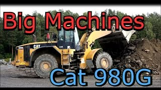 Caterpillar 980G Wheel loader- Volvo Dumper- Big Machines