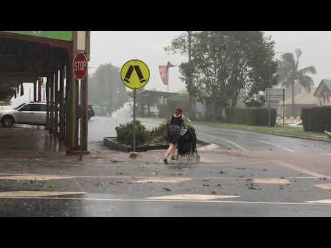 Atherton Hail Storm Dec 2018