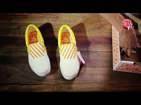 unboxing Vans japan x Mooneyes slip on (Yokohama Hot Rod Custom Show 2017)