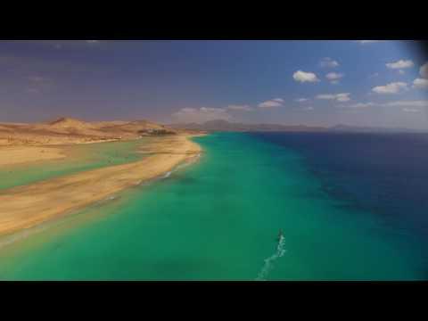 Fuerteventura lagoon near Costa Calma