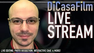 DiCasaFilm Live Stream | Editing an Interview | Wednesday 9/16/20