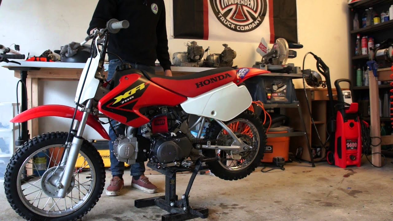 Xr70r With Lifan 125cc Motor Exhaust Sound And Ride