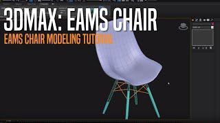 EAMES CHAIR Modeling Tutorial for Beginner Autodesk 3D MAX 2014
