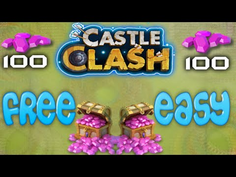 How To Claim Your 200 Free Gems | Castle Clash