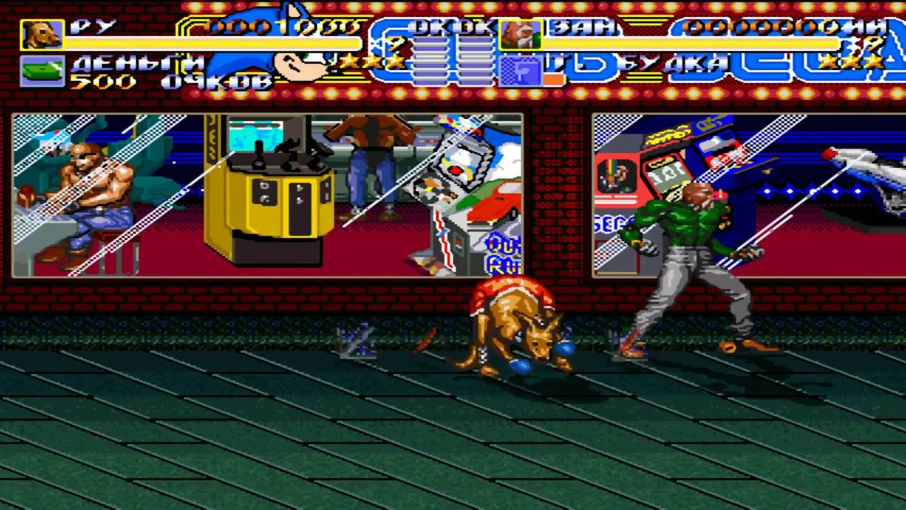 Streets of Rage Remake v5.1 - Mod - Sega Club - YouTube