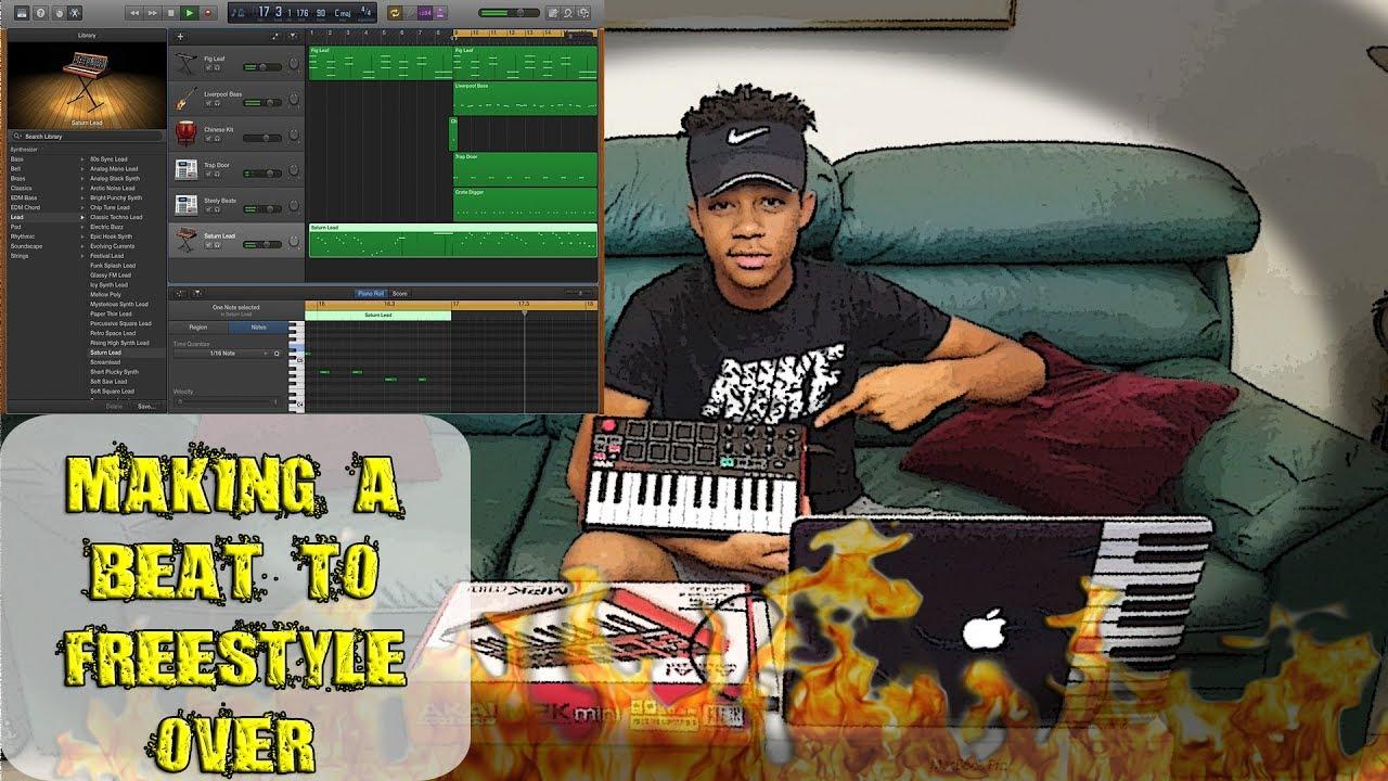 how to create a beat on garageband