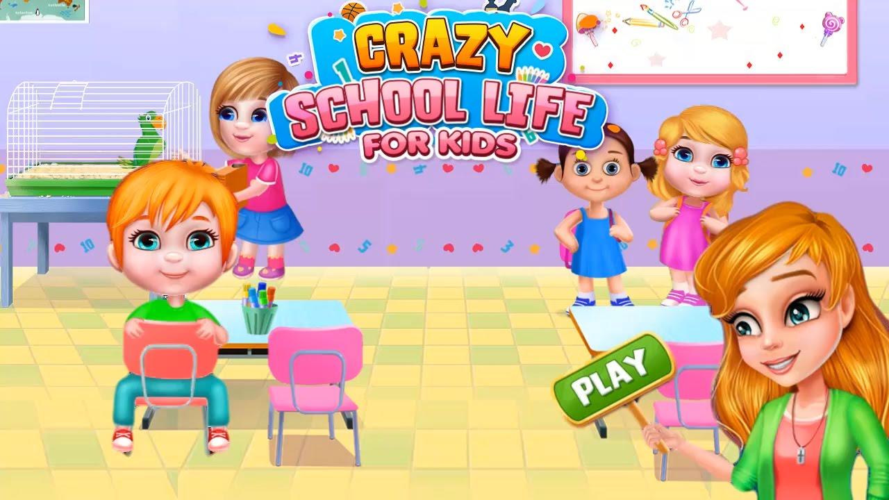 crazy school life for kids crazy kids school games by gameiva