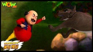 Motu Patlu New Episodes   Cartoons   Kids   Motu The Jungle King   Wow Kidz