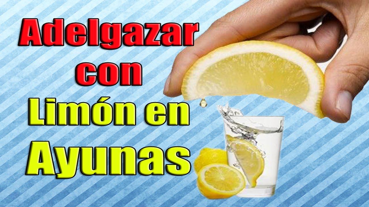 el limon en ayunas adelgaza