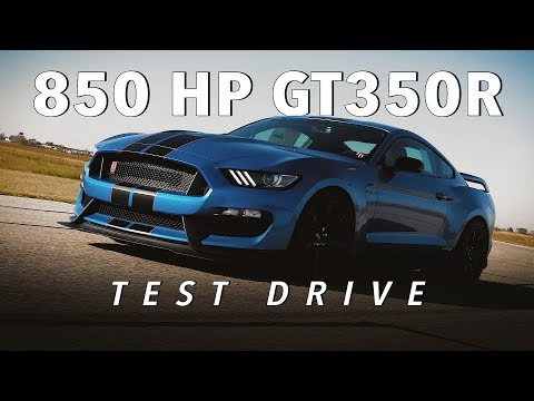 Supercharged GT350R W/ 850 HP Test Drive