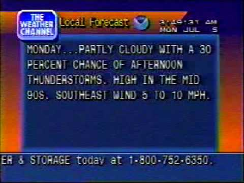 TWC Local Forecast & ID 1999