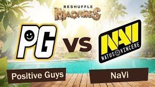 Positive Guys vs NaVi - Map1 | Dota 2 Reshuffle Madness 2019 | WePlay! Esports