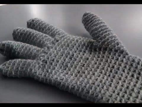 Handschuhe Häkeln Anleitung Handarbeiten Youtube