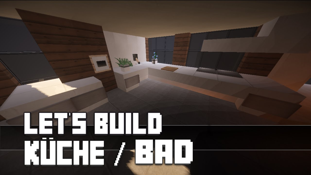 Minecraft :: Möbel Tutorial :: Moderne Küche / Bad [Haus Nr. 11 ...