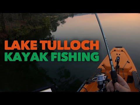 Lake TULLOCH Kayak Fishing