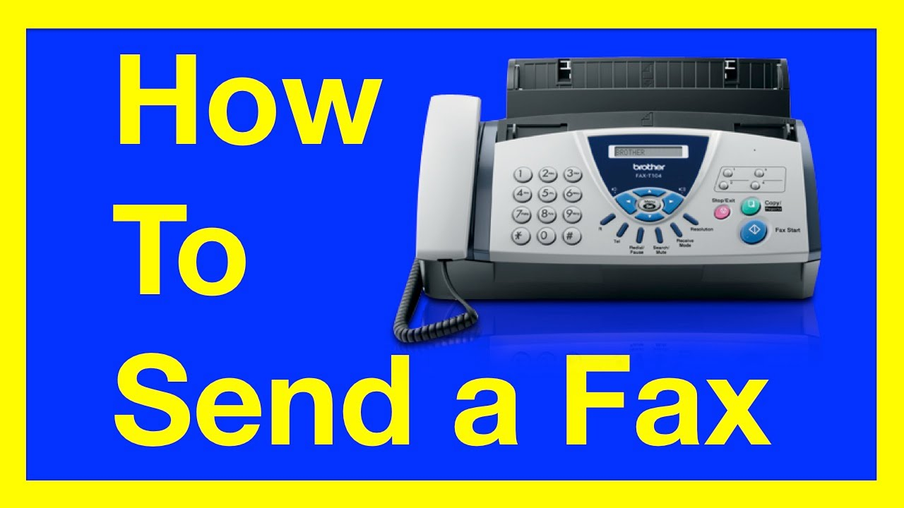 Download How to Send a Fax from a Fax Machine : How to Fax