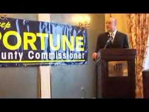Lt. Governor Lee Fisher endorsing Todd Portune