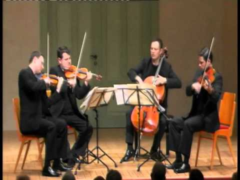 Jerusalem Quartet - J. Brahms, String Quartet Op. 51 NO. 1 - 4. Allegro