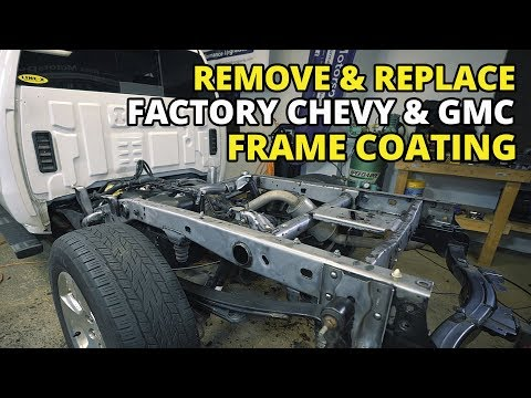 Number 1 Silverado Issue – How To Fix GMC and Chevy Frame Rust and Undercoating Sierra Tahoe