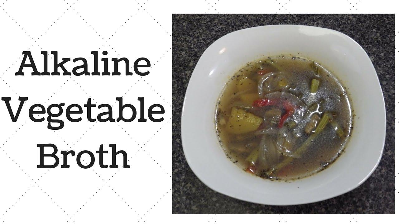 Vegetable Broth Dr  Sebi Alkaline Electric Recipe