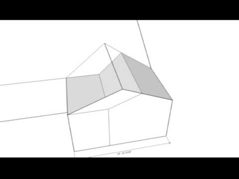 How To Extend Side Gable Roof   Room Addition Design   YouTube