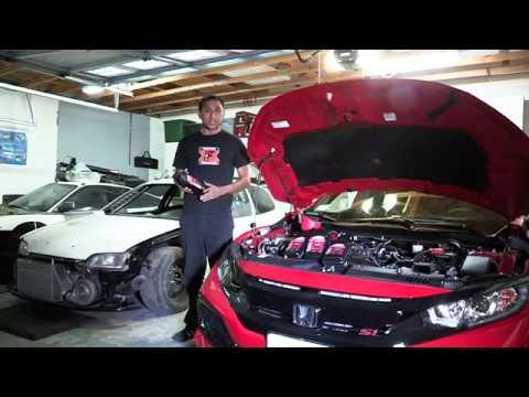 2017 Honda Civic Si First Oil Change - Ososik Media