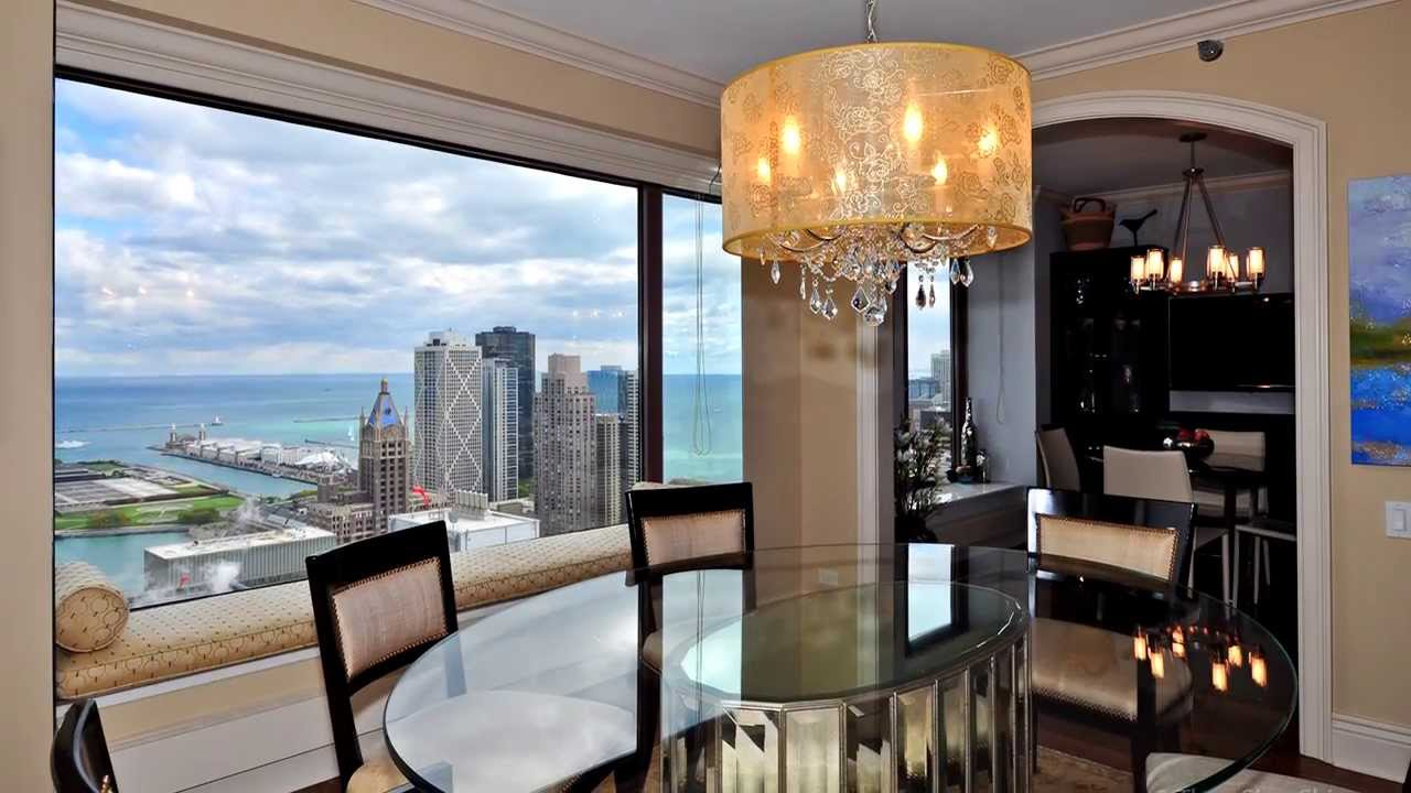 Luxury Streeterville Chicago Condo 161 E Chicago Youtube