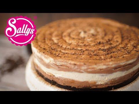 Cappuccino Schokoladenkuchen ohne Backen / No Bake Cappuccino Chocolate Cheesecake