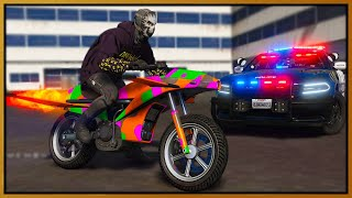 GTA 5 Roleplay - MAKING COPS MAD IN JET POWER BIKE | RedlineRP