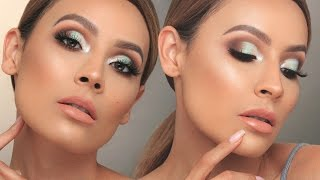 SEAFOAM GREEN CUT CREASE  | DESI PERKINS